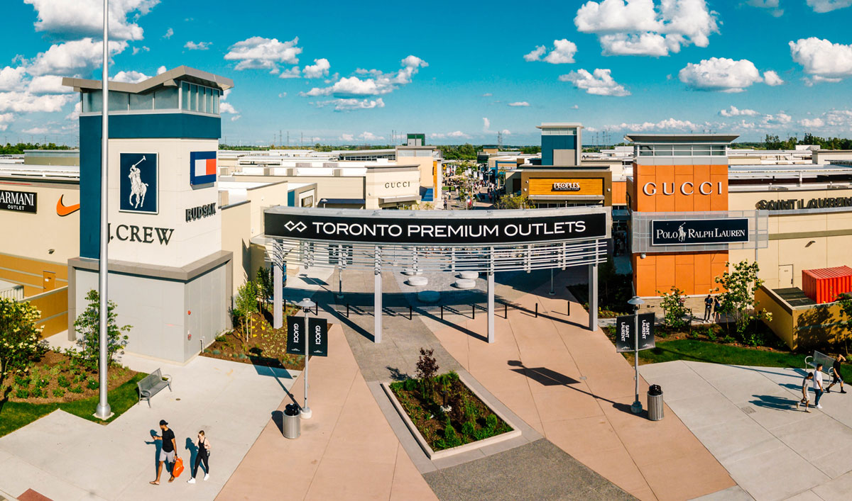 Do Business at Toronto Premium Outlets™, a Simon Property