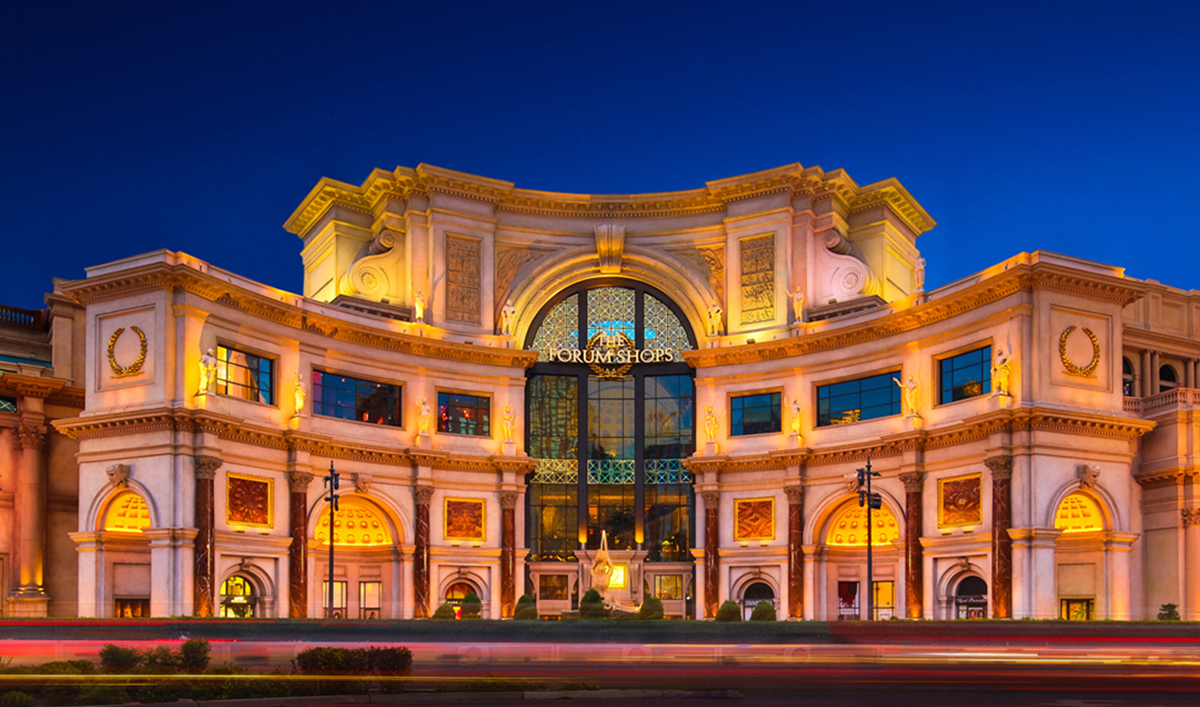 Do Business at The Forum Shops at Caesars Palace®, a Simon Property.